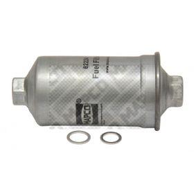 DEDRA (835) MAPCO Filtro combustibile 62224