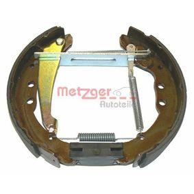 METZGER Bremsbelag und Bremsbacke MG 572V für AUDI 100 1.8 88 PS kaufen