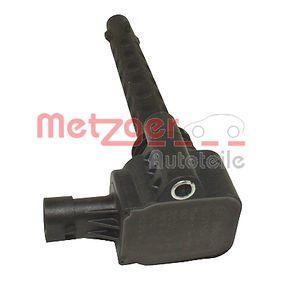 Zündspule METZGER Art.No - 0880406 OEM: 55234131 für FIAT, ALFA ROMEO, CHRYSLER, LANCIA, ABARTH kaufen