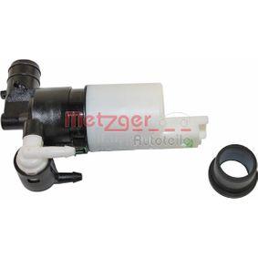 METZGER Motor agua limpiaparabrisas (2220032)