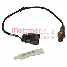 METZGER Αισθητήρας λάμδα AUA Αυτόματο κιβώτιο ταχυτήτων με λαστιχένια μούφα Ανιχνευτής διάγνωσης 4250032537340 εκτίμηση