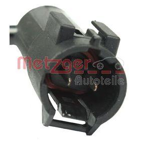 RENAULT MEGANE 1.6 16V 112 CV año de fabricación 01.2006 - Sensor (0909055) METZGER Tienda online