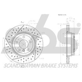 Bremsschlauch sbs Art.No - 1330851520 OEM: 34326767390 für BMW kaufen