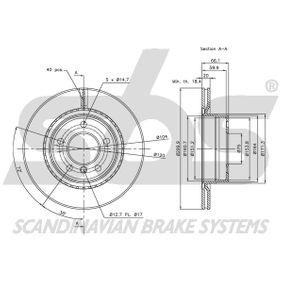 34216792227 für BMW, MINI, Bremsscheibe sbs (1815311558) Online-Shop