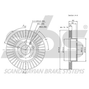 A6384210112 für MERCEDES-BENZ, Bremsscheibe sbs (1815313335) Online-Shop