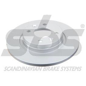 Bremsscheibe sbs Art.No - 1815313939 OEM: 402065345R für RENAULT, FIAT, DACIA kaufen