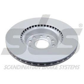 sbs Disc frana JZW615301H pentru VW, AUDI, SKODA, SEAT cumpără
