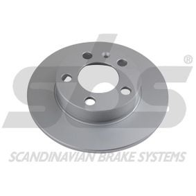 Bremsscheibe sbs Art.No - 1815314761 OEM: 2Q0615601H für VW, AUDI, SKODA, SEAT kaufen