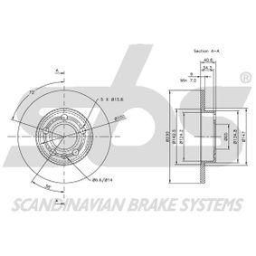 2Q0615601H für VW, AUDI, SKODA, SEAT, Bremsscheibe sbs (1815314761) Online-Shop