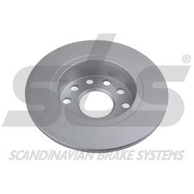 sbs Bremsscheibe 5C0615601 für VW, AUDI, SKODA, SEAT, PORSCHE bestellen
