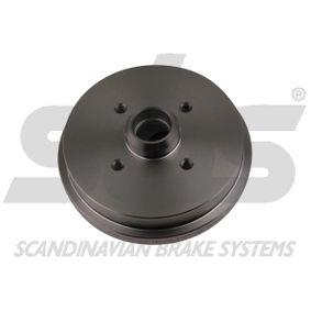 Bremstrommel sbs Art.No - 1825254708 OEM: 171501615 für VW, AUDI, SKODA, SEAT, PORSCHE kaufen