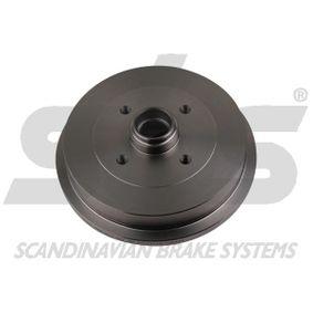 Bremstrommel sbs Art.No - 1825254709 OEM: 115330192 für VW, AUDI, SKODA, SEAT kaufen