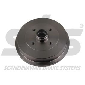 Bremstrommel sbs Art.No - 1825254709 OEM: 1H0501615A für VW, AUDI, FORD, SKODA, SEAT kaufen