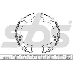 sbs Bremsbackensatz, Feststellbremse 583501HA00 für HYUNDAI, KIA bestellen