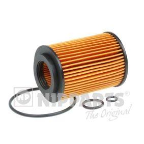 Popular Oil filter NIPPARTS N1314018 for HONDA CIVIC 2.2 CTDi (FK3) 140 HP