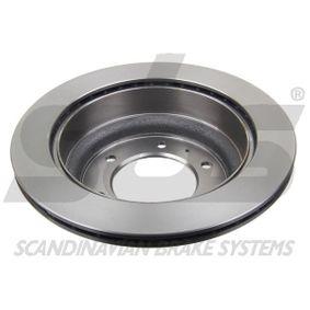 Bremsschlauch sbs Art.No - 1330854706 OEM: 175611701A für VW, AUDI, SKODA, SEAT kaufen