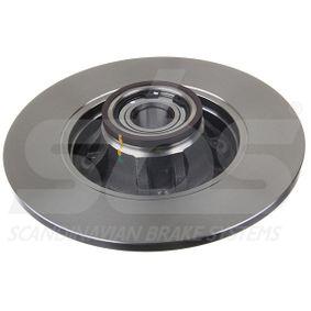 Bremsschlauch sbs Art.No - 1330854756 OEM: 251611775B für VW, AUDI, SKODA, SEAT, PORSCHE kaufen