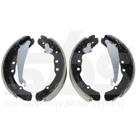Bremsbackensatz sbs Art.No - 18492747530 OEM: 331609528F für VW, AUDI, SKODA, SEAT, VAUXHALL kaufen