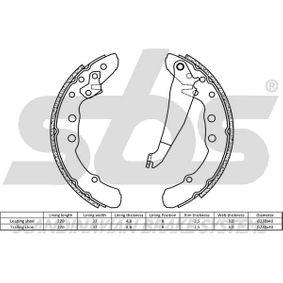 sbs Bremsbackensatz 331609528F für VW, AUDI, SKODA, SEAT, VAUXHALL bestellen