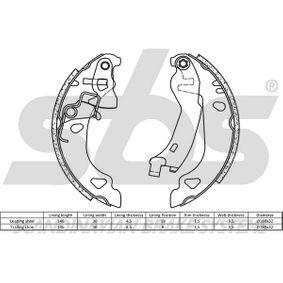 sbs Bremsbackensatz 9945975 für FIAT, ALFA ROMEO, LANCIA bestellen