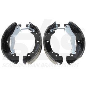 Bremsbackensatz sbs Art.No - 18492747549 OEM: 701609531 für VW, AUDI, SKODA, SEAT, VAUXHALL kaufen