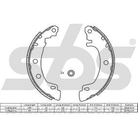 sbs Bremsbackensatz 7701207267 für RENAULT, RENAULT TRUCKS bestellen