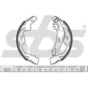 sbs Bremsbackensatz 424216 für FIAT, PEUGEOT, CITROЁN, PIAGGIO, TVR bestellen