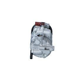 NRF Kompressor, Klimaanlage 1K0820808B für VW, AUDI, SKODA, SEAT, VOLVO bestellen