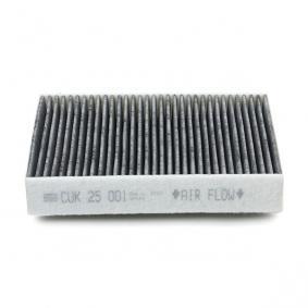 MANN-FILTER CUK 25 001 Filter, Innenraumluft OEM - 64116821995 BMW, ALPINA, MINI, BMW (BRILLIANCE) günstig