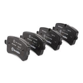 BREMBO Kit de plaquettes de frein, frein à disque 4G0698451H pour VOLKSWAGEN, AUDI, SEAT, SKODA acheter