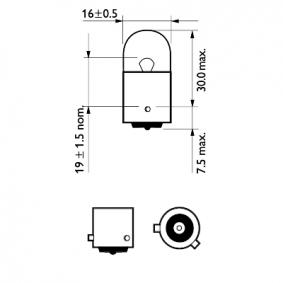 Крушка с нагреваема жичка, мигачи 12093NACP онлайн магазин