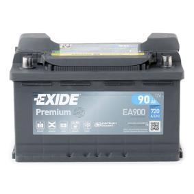 EXIDE Starterbatterie (EA900) niedriger Preis