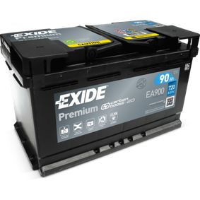 EXIDE Starterbatterie EA900