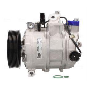 NISSENS Kompressor, Klimaanlage Prefilled PAG-OIL 89210 in Original Qualität