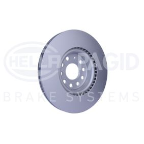 HELLA 8DD 355 109-521 Bremsscheibe OEM - 1K0615301D AUDI, SEAT, SKODA, VW, VAG, AKEBONO günstig