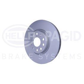HELLA Disc frana JZW615301H pentru VW, AUDI, SKODA, SEAT cumpără