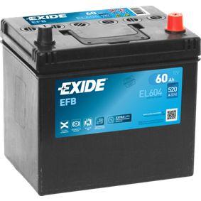 EXIDE Starterbatterie PE1T18520 für MAZDA bestellen