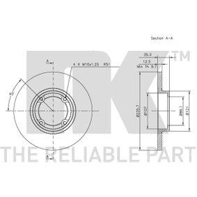 MATIZ (M200, M250) NK Pedales y cubre pedales 315001