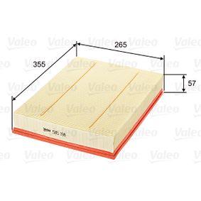 Luftfilter VALEO (585198) für VW CRAFTER Preise