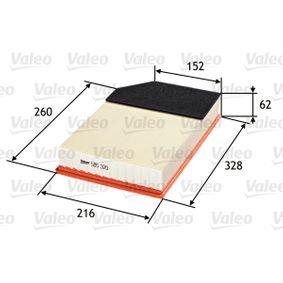 Luftfilter VALEO Art.No - 585320 OEM: 8638600 für VOLVO kaufen