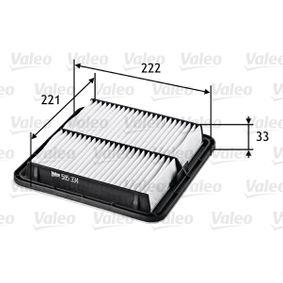 Luftfilter VALEO (585334) für SUBARU IMPREZA Preise