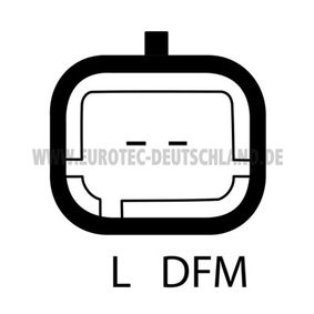 EUROTEC 12046240 Generator OEM - 9646321780 ALFA ROMEO, CITROËN, FIAT, LANCIA, PEUGEOT, SUZUKI, CITROËN/PEUGEOT, INA, CITROËN (DF-PSA), LUCAS ENGINE DRIVE, NPS, AS-PL günstig