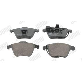 Bremsbelagsatz, Scheibenbremse JURID Art.No - 573196JC OEM: 4F0698151B für VW, AUDI, SKODA, SEAT kaufen