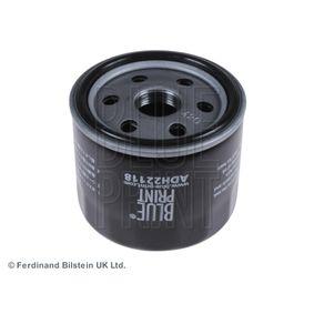 Filtro de aceite para motor ADH22118 BLUE PRINT