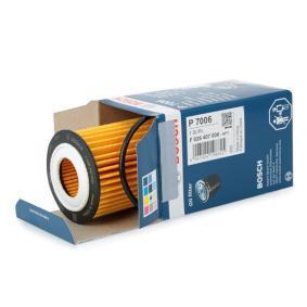 Filtro de aceite (F 026 407 006) fabricante BOSCH para CHEVROLET Aveo / Kalos Hatchback (T250, T255) año de fabricación 04/2008, 101 CV Tienda online
