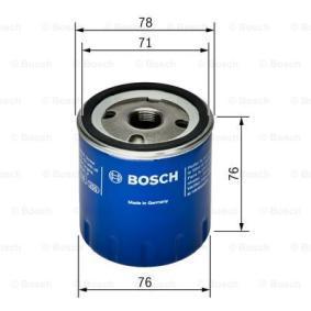 BOSCH Oil filter (F 026 407 078)
