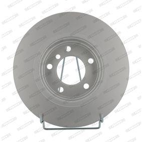 Bremsscheibe FERODO Art.No - DDF1066C OEM: 34116855152 für BMW kaufen