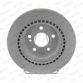 Bremsscheibe FERODO Art.No - DDF1457C OEM: 2204230212 für MERCEDES-BENZ, DAIMLER kaufen