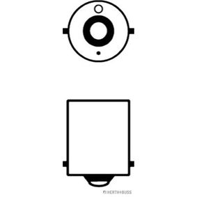 Bulb, licence plate light 89901108 online shop