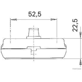 HERTH+BUSS ELPARTS Габаритни светлини (82710295) на ниска цена
